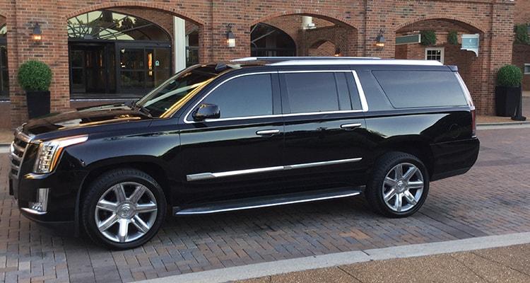7 passenger Cadillac Escalade SUV